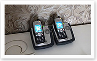 Cisco wireless WiFi IP-Phones connected to the network, you can transfer calls between phones regardless of their location and use connection between telephone sets of the home, hotel, and yacht networks.